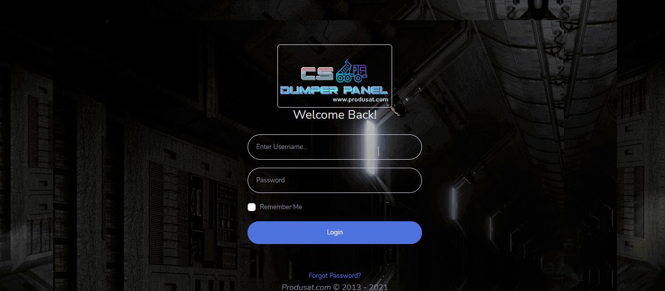 Dumper MultiCS-OSCam Panel Login-png
